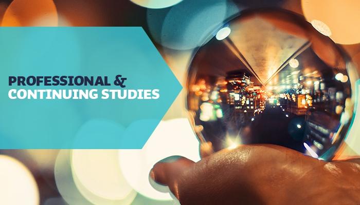 professional continuing studies professional continuing studies