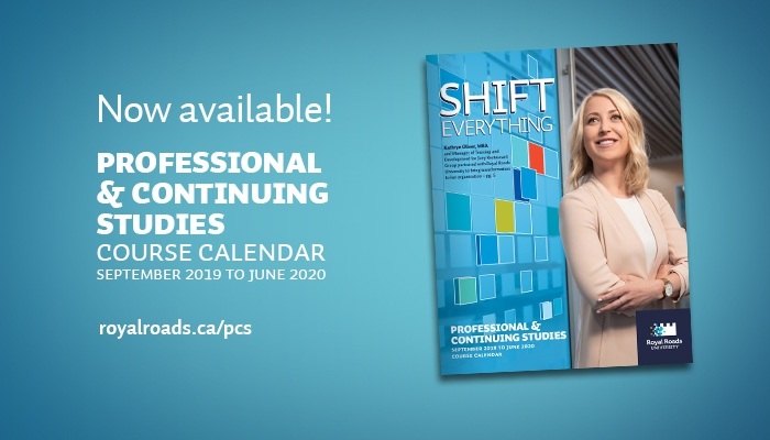 Professional and Continuing Studies 2019-20 course calendar now available!