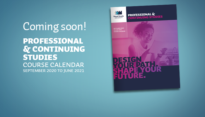 Coming soon: Professional and Continuing Studies 2020-21 course calendar